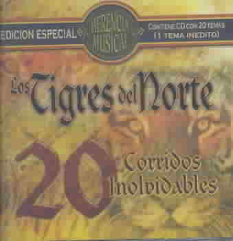 HERENCIA MUSICAL-20 CORRIDOS BY LOS TIGRES DEL NORTE (CD)